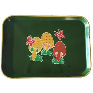Groovy Mushroom & Butterfly Tray