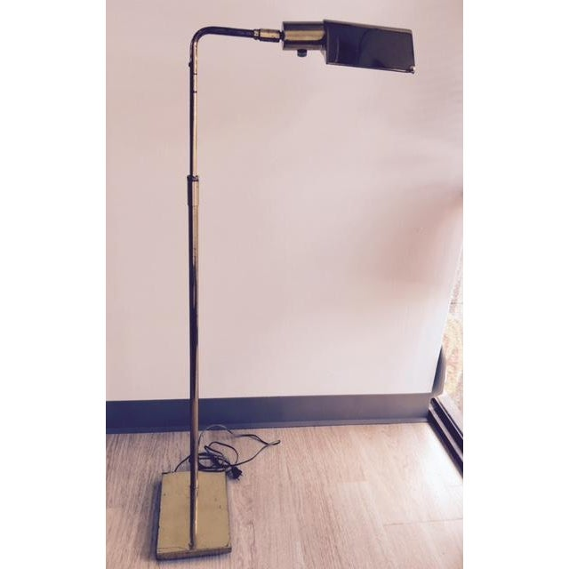 Mid-Century Koch & Lowy Adjustable Floor Lamp - Image 8 of 9