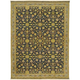 """Heriz Style Hand Knotted Rug - 5'2"""" x 6'10"""""""