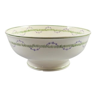 French Longwy Serving Bowl