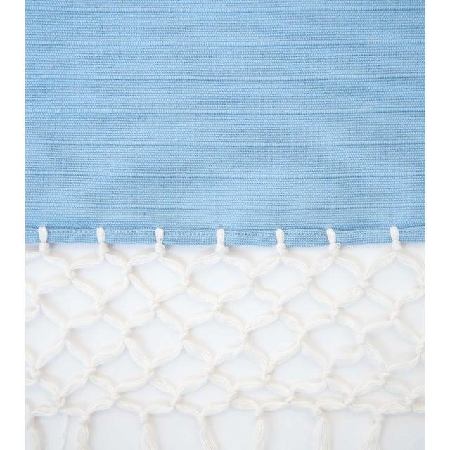Sky Blue Cotton Tablecloth Chairish