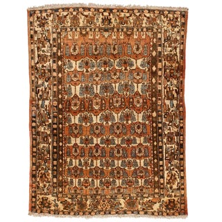 Antique Persian Isphahan Rug