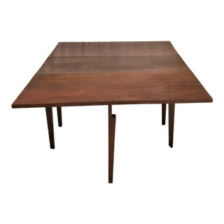 Circa 1850 Primitive Walnut Dining Table