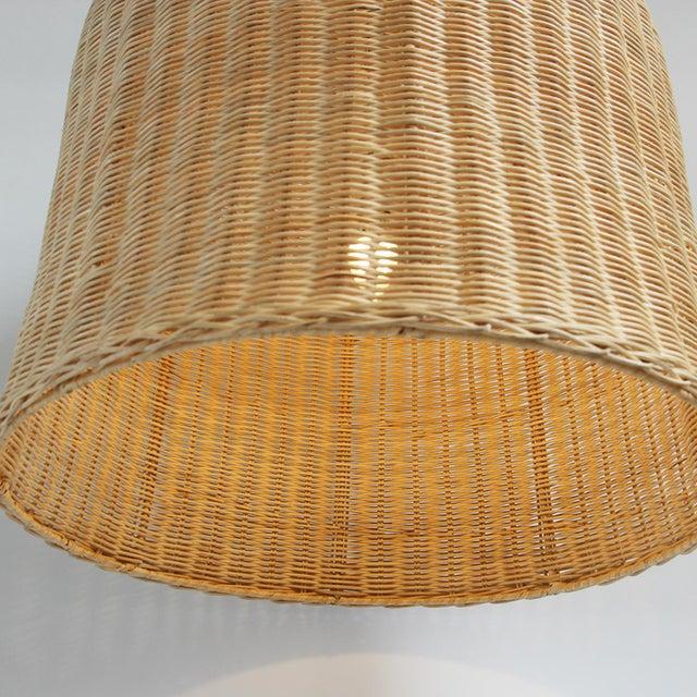 Bell Raw Wicker Lantern XL - Image 2 of 3