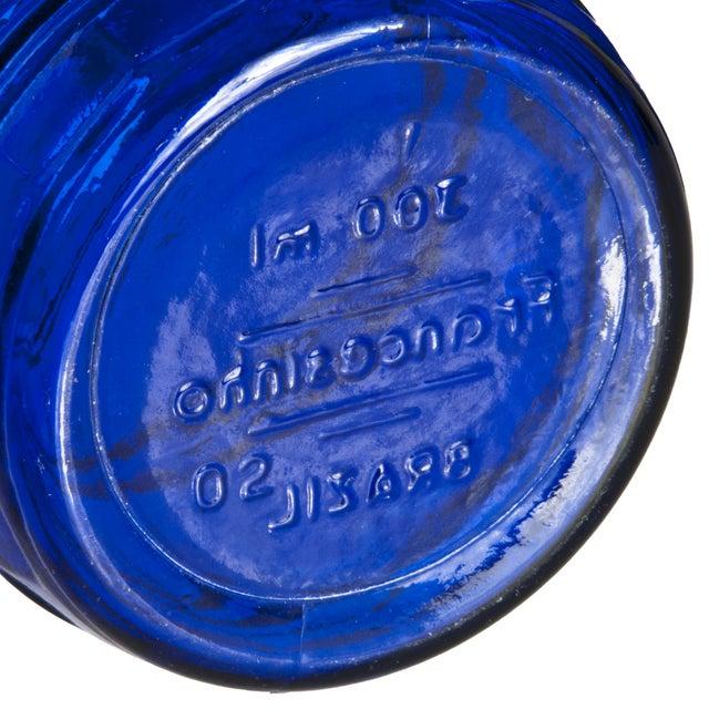 Image of Francesinho Brazil Cobalt Blue Glasses - Set of 4