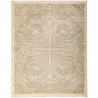 """Shalimar, Hand Knotted Area Rug - 8' 1"""" x 10' 1"""""""