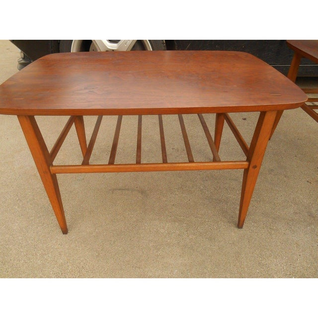 Mid Century Danish Modern Small Scale Drawer Coffee Table: Mid-Century Danish Modern Lane End Tables
