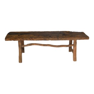 Early Chestnut Bench with Branch Stretcher