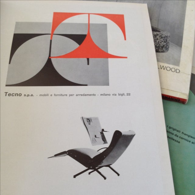 Mid-Century Domus Magazines- Set of 4 - Image 4 of 6