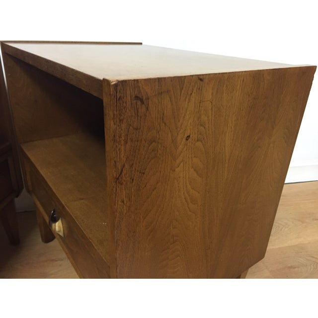 Brasilia Style Nightstands - a Pair - Image 5 of 11