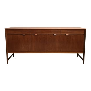 Long Vintage Teak Sideboard by Nathan