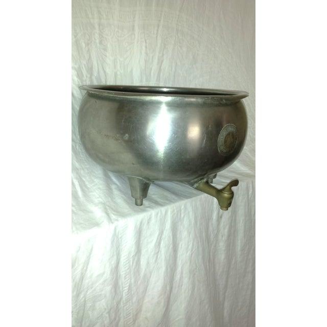 Vintage Industrial Dairy Cream Separator Bowl - Image 7 of 8