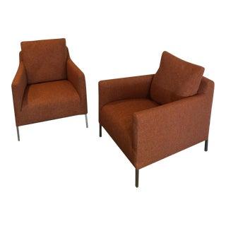 "Anthony Citterio B & B Italia ""Solo"" Chairs - Pair"