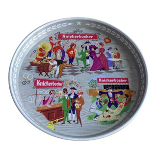 Vintage Bright Knickerbocker Beer Tray