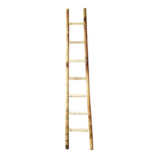 Antique Bamboo Orchard Ladder