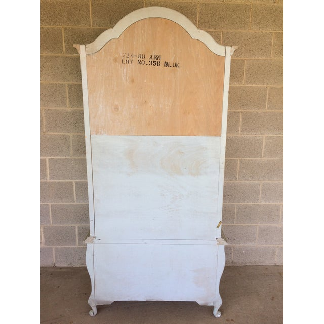 Hickory White French Provincial Armoire - Image 10 of 11