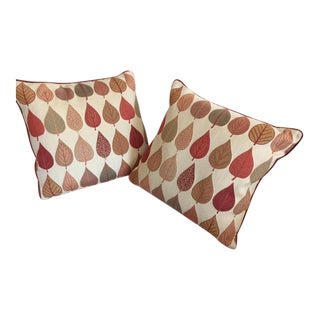 Custom-Made Decorative Pillows - A Pair