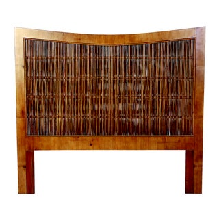 David Francis South Seas Bamboo King Headboard