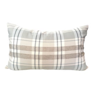 Designer Plaid Pillow Cover