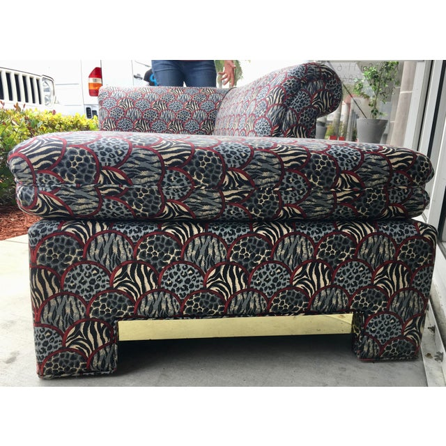 Mid-Century Chaise Lounge - Image 10 of 11