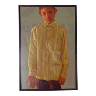 "Nick Kosciuk ""Boy"" Oil Painting"