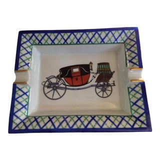 Hermes Old Fashioned Buggy Ashtray