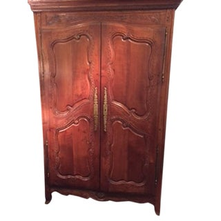 Mid 18th Century Provincial French Armoire