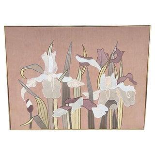 Don Freedman 'Midnite Pass' Handmade Silk Art
