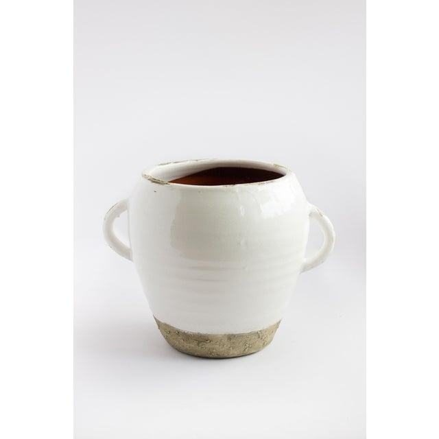 White Xian Round Vase - Image 2 of 2