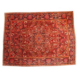 Vintage Persian Ahar Rug - 8′10″ × 11′10″