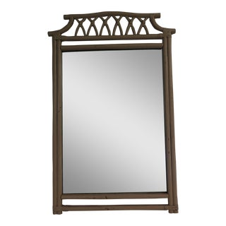 1960s Bamboo Style Mirror