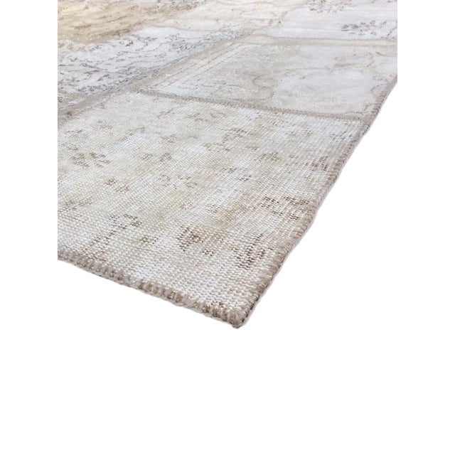 """Pasargad Patchwork Collection Rug - 6' 0"""" X 9' 1"""" - Image 2 of 3"""