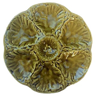 Gien French Oyster Plate