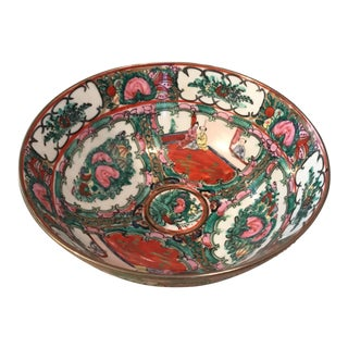 Hand Painted Chinese Porcelain Bowl