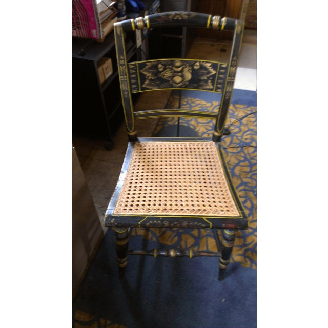 Image of Hitchcock Cane Side Chair