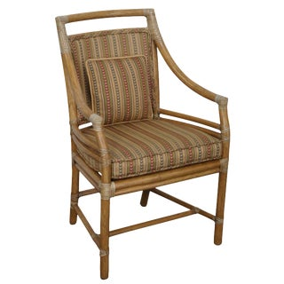 McGuire of San Francisco Rattan Armchair