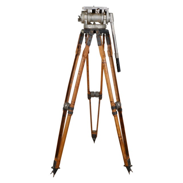 Industrial Motion Picture Tripod - Image 1 of 9