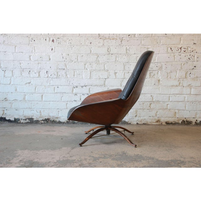 """George Mulhauser for Plycraft """"Mr. Chair"""" and Ottoman - Image 6 of 10"""