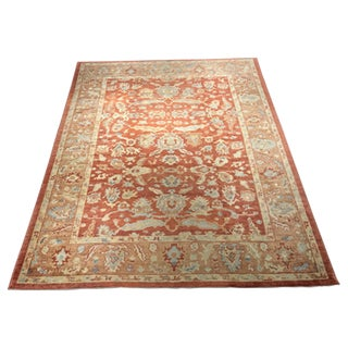 "Bellwether Vintage Inspired Turkish Oushak Rug- 9'6"" x 11'6"""