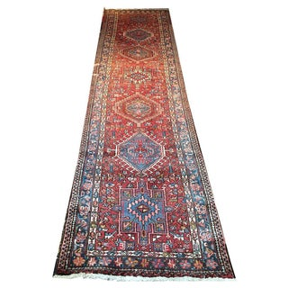 "Antique Persian Karaje Runner - 2'10"" x 11'3"""