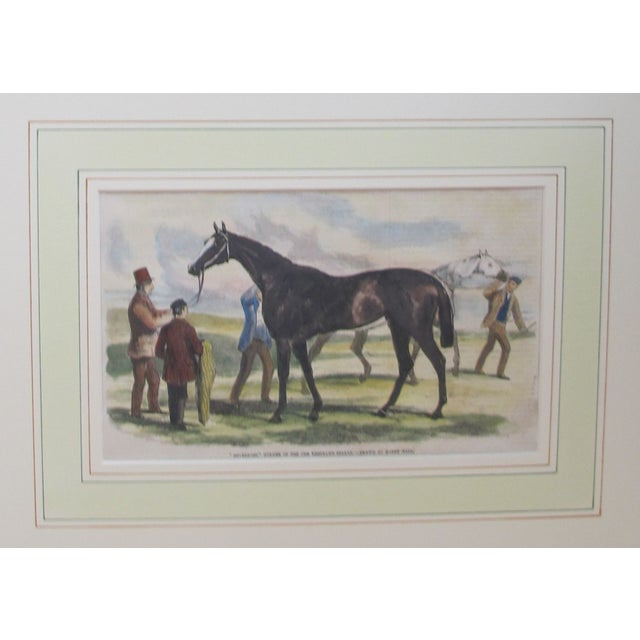 1860s Original British Equestrian Prints - Pair - Image 3 of 4