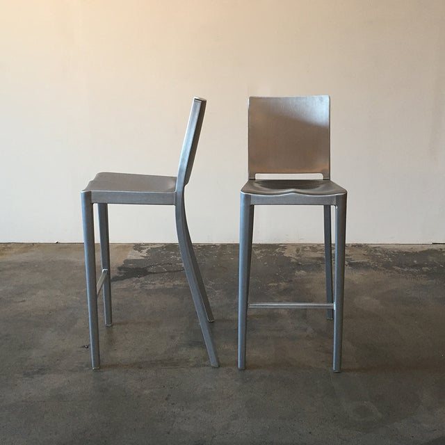 Philippe Starck Emeco Hudson Bar Stools - A Pair - Image 2 of 5