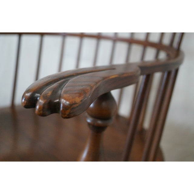 Custom Fan Back Windsor Arm Chairs - A Pair - Image 5 of 10