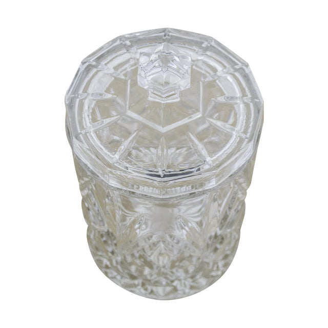 Lead Crystal Ice Bucket With Lid - Image 1 of 6