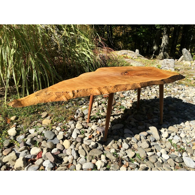 Image of Maple Live Edge Cocktail Table