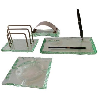 Fontana Arte by Pietro Chiesa Italian Desk Set