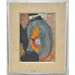Image of Serge Diakonoff Abstract Mixed Media Painting
