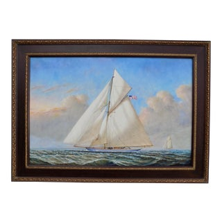 """D. Tayler """"Approaching Home"""" Oil Painting"""