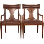 """Image of Baker Furniture """"Locri"""" Dining Chairs - A Pair"""