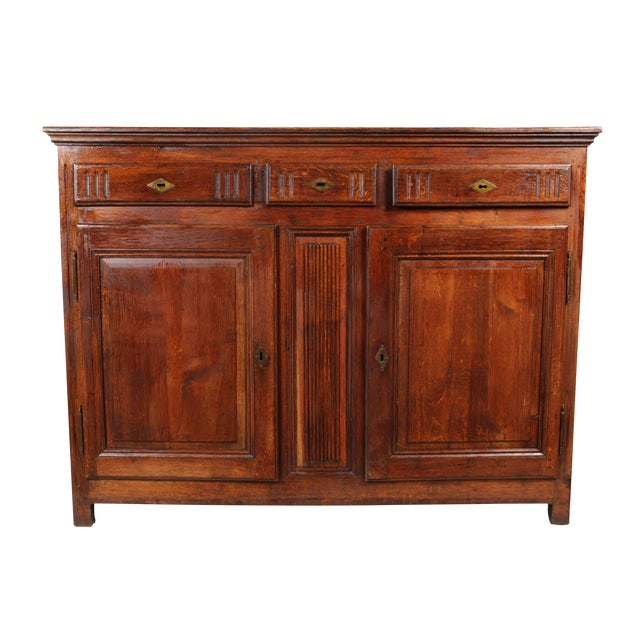 19th C. French Louis XV-Style Buffet - Image 1 of 8